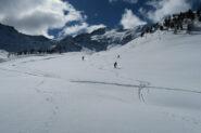 neve splendida nelle zone riparate dal vento
