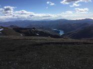 panorama verso il Brugneto