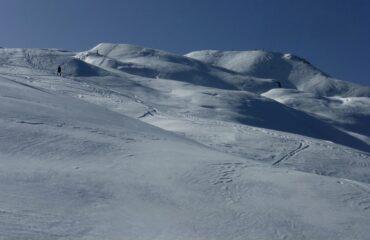 pendii aperti dopo l'alpe