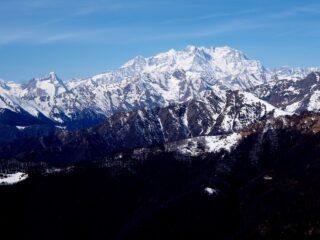 Il Monte Rosa dal Monte Ostano.