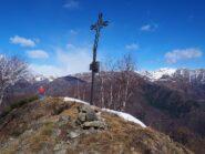 La croce della Cima di Grignano.