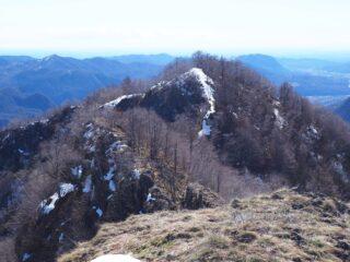 La Cima di Vaso dalla Cima di Grignano.