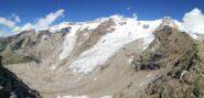 Panoramica sul ghiacciaio del Lyskamm