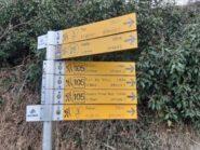 Le indicazioni alla partenza a Porossan