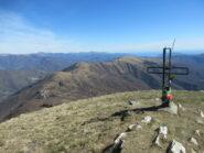 Il Monte Guardiabella dal Monte Grande (m.1418)