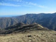 Costone di discesa dal Monte Prearba