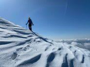 uscita sulla cresta di Piancaformia