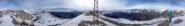 Panorama di vetta a 360°
