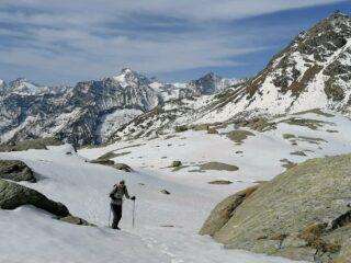 Condizioni della neve presso il Lago Vercellina (5/4/2021)