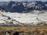 Vista dal Colle della Piccola guardando verso Forno (5/4/2021)