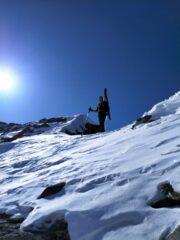 Salendo la cresta