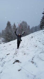 Neve d'Aprile!
