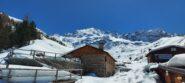 Alpe Boron ...e dietro lo spettacolare anfiteatro dove noi oggi saremo i protagonisti.
