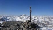 Croce di vetta del Monte Terra Nera