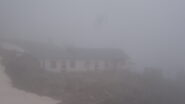 Maison Des Chamois nella nebbia