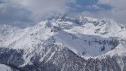 Pic de Rochebrune coperto dalle nuvole