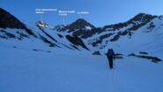 Pendii iniziali in Val Suretta.
