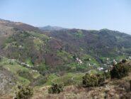 Il verde versante verso Fiorino
