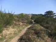 Sentiero verso il Forte Geremia
