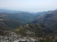 Verso Genova e la dorsale di discesa