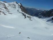Dal colle in giù neve spettacolare