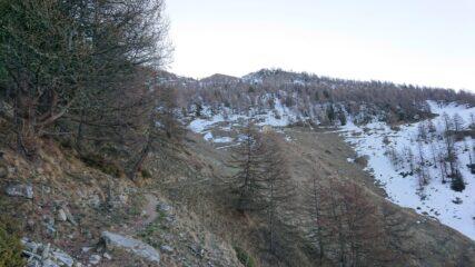 Alle baite di Vioù inizia la neve