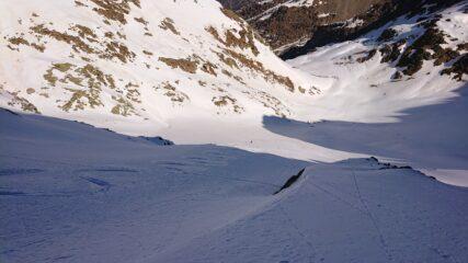Parte bassa, neve molto bella
