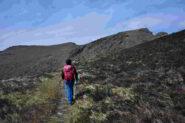 Veduta sui monti Tardia dai pressi dell'ex-Dazio