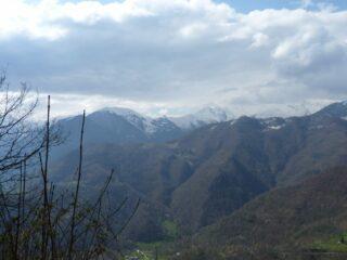 Panorama verso Monte Vecchio...