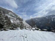 Panorama verso la Valle Fredda.