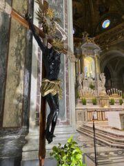 Il Cristo Moro:  Crocifisso da processione (Le casacce)