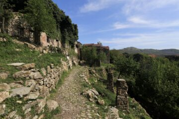 Inizio sentiero per Marsiglia
