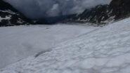 in discesa dal Glacier de Corbassière verso la Cabane de Panossière