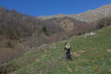 Sul sentiero Campana