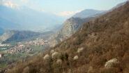 Rocca Bianca dal sentiero alto