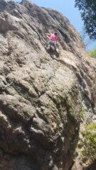 Punta del Corno, prime ripetizioni... 25 Aprile 2021