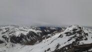 La Val Thuras dalla Cima del Pelvo