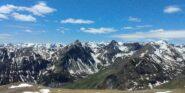 panorama verso i monti Savi, Salé e Omo