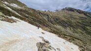 prima neve a quota 2200 m nel Vallone di Barbacana
