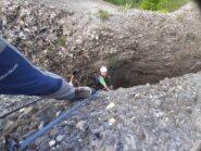 Uscita dalla grotta