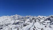 Aiguille de Glaciers, Aguille de Tre la Tete, Monte Bianco, Grand Jorasses