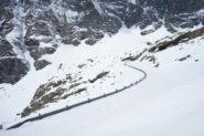 All'uscita della galleria a 2270 m