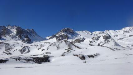 Colle del Vallone, Rocher Blanc, Pic di Lac Planc, Piccola Tempesta