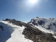 In vista della cima principale