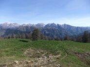 Alpi Liguri dai prati sopra la Margheria Garlenda
