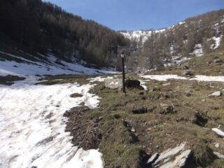 Sopra la Margheria si trova la neve