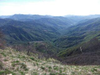 Valle Arroscia dal crinale