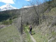 il sentiero verso Soubras