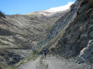 l'aspro vallone dove inizia il Rio Rocciamelone