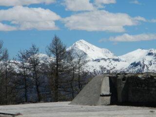 dal Forte vista sulla Punta Rognosa